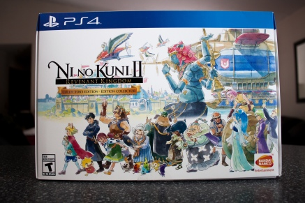Ni No Kuni II Revenant Kingdom Collector's Box. Photo by Nyne Muses.